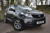 2015 KIA SPORTAGE 1.7 CRDI 2 ISG 5d 114 BHP £13495.00