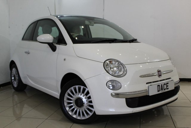 View our 2012 12 FIAT 500 1.2 LOUNGE 3DR 69 BHP