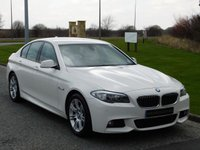 2011 BMW 5 SERIES 2.0 520D M SPORT 4d 181 BHP £11490.00