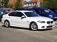 2014 BMW 5 SERIES 2.0 520D M SPORT 4d AUTO 191bhp (2015 MODEL) £14995.00