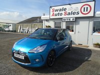USED 2013 13 CITROEN DS3 1.6 THP DSPORT 3d 156 BHP £35 PER WEEK NO DEPOSIT, SEE FINANCE LINK BELOW