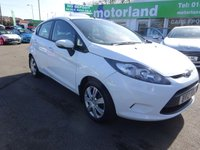 USED 2012 12 FORD FIESTA 1.2 EDGE 5d 81 BHP ***JUST ARRIVED...TEST DRIVE TODAY***
