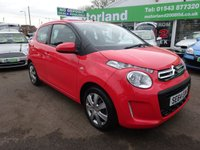 USED 2015 64 CITROEN C1 1.0 FEEL 5d 68 BHP **ONE OWNER CAR FROM NEW **
