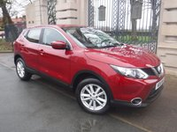 USED 2016 16 NISSAN QASHQAI 1.5 DCI ACENTA SMART VISION 5d 108 BHP *** FINANCE & PART EXCHANGE WELCOME *** 1 OWNER £ 0 FREE ROAD TAX AIR/CON CRUISE CONTROL PARKING SENSORS