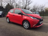 2015 TOYOTA AYGO 1.0 VVT-I X 5d  FREE ROAD TAX AND TOYOTA WARRANTY  £5500.00