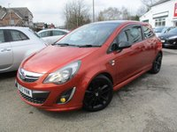 2013 VAUXHALL CORSA 1.2 LIMITED EDITION 3d 83 BHP £5000.00