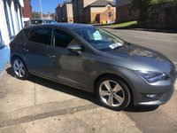 USED 2015 SEAT LEON 2.0 TDI FR TECHNOLOGY 5d 150 BHP FR with Technology Pack+£30 Tax