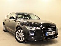 USED 2013 63 AUDI A6 2.0 TDI SE 4d AUTO 175 BHP + 1 OWNER + AIR CON + AUX + BLUETOOTH