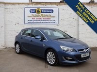 USED 2014 14 VAUXHALL ASTRA 1.6 ELITE 5d 113 BHP Full Dealer History Leather 0% Deposit Finance Available