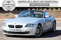 USED 2008 08 BMW Z4 2.0 Z4 SPORT ROADSTER 2d 148 BHP +++ FREE 6 months Autoguard Warranty included in screen price +++