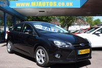 USED 2014 64 FORD FOCUS 1.6 ZETEC NAVIGATOR ECONETIC TDCI START/STOP 5dr 104 BHP FINANCE AVAILABLE | 1 OWNER FROM NEW