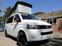 USED 2012 12 VOLKSWAGEN T5 TRANSPORTER 2.0 TDI T5 Camper Van Brand New Conversion A/C, Cruise, Navigation