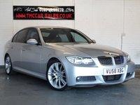 2008 BMW 3 SERIES 3.0 325D M SPORT 4d AUTO 195 BHP £5551.00