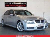 2008 BMW 3 SERIES 3.0 325D M SPORT 4d AUTO 195 BHP £5324.00