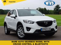 USED 2013 63 MAZDA CX-5 2.2 D SE-L 5d AUTO 148 BHP A rare AUTOMATIC Mazda CX-5 2.2d SE-L 5dr in white priced at just £10399 including an independent AA inspection. 1 keeper from new with service history.