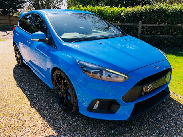 2016 66 FORD FOCUS Ford Focus 2.3 EcoBoost RS AWD (s/s) 5dr (LUX PACK)