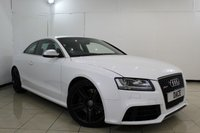 USED 2011 11 AUDI RS5 4.2 RS5 FSI QUATTRO 2DR AUTOMATIC 444 BHP FULL SERVICE HISTORY + LEATHER SEATS + SAT NAVIGATION + REVERSE CAMERA + BLUETOOTH + CRUISE CONTROL + MULTI FUNCTION WHEEL + 19 INCH ALLOY WHEELS