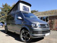 USED 2017 17 VOLKSWAGEN T6 TRANSPORTER 2.0 TDI T6 Camper Van Brand New Conversion, A/C, Cruise