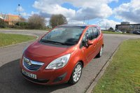 2012 VAUXHALL MERIVA 1.4 SE Alloys,Air Con,Cruise,Glass Roof £5450.00