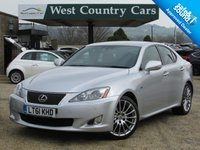 USED 2011 61 LEXUS IS 2.5 250 F SPORT 4d AUTO 204 BHP Low Mileage With Full Service History