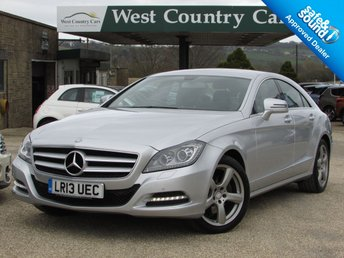 2013 MERCEDES-BENZ CLS CLASS 2.1 CLS250 CDI BLUEEFFICIENCY 4d AUTO 204 BHP £16000.00