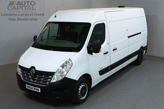 2014 64 RENAULT MASTER 2.3 LM35 BUSINESS 125 BHP LWB ONE OWNER FROM NEW, MOT UNTIL 4/01/2019