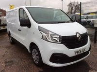 USED 2015 65 RENAULT TRAFIC SWB 1.6 SL27 BUSINESS PLUS DCI S/R 115 BHP 1 OWNER FSH  MANUFACTURER'S WARRANTY REAR PARKING SENSORS ELECTRIC WINDOWS AND MIRRORS 6 SPEED BLUETOOTH AIR CONDITIONING SPARE KEY