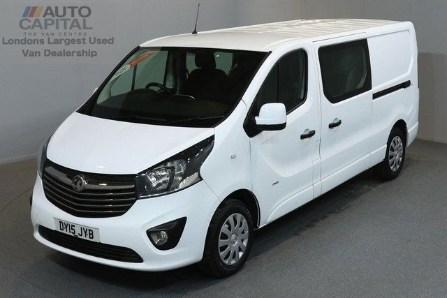 2015 15 VAUXHALL VIVARO 1.6 2900 CDTI SPORTIVE 114 BHP L2 H1 LWB LOW ROOF A/C COMBI VAN ONE OWNER FROM NEW, 6 SEATER COMBI VAN