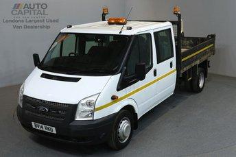 2014 FORD TRANSIT 2.2 350 DRW 99 BHP L3 LWB TIPPER £10990.00