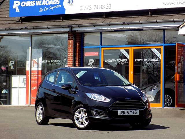 USED 2015 15 FORD FIESTA 1.5 TDCi ZETEC 3dr