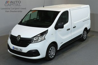 2015 RENAULT TRAFIC 1.6 SL27 BUSINESS PLUS 115 BHP SWB LOW ROOF A/C £8690.00