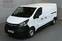 USED 2015 15 VAUXHALL VIVARO 1.6 2900 CDTI 114 BHP LWB LOW ROOF ONE OWNER FROM NEW, FULL SERVICE HISTORY