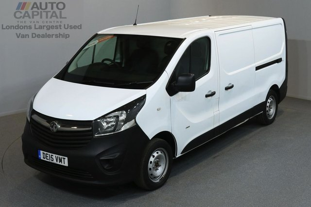 2015 15 VAUXHALL VIVARO 1.6 2900 CDTI 114 BHP LWB LOW ROOF ONE OWNER FROM NEW, FULL SERVICE HISTORY