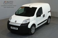 USED 2014 14 FIAT FIORINO 1.2 16V MULTIJET 75 BHP SWB ONE OWNER FROM NEW, FULL DEALER SERVICE HISTORY