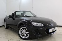 USED 2009 09 MAZDA MX-5 2.0 I ROADSTER SE 2DR 158 BHP FULL SERVICE HISTORY + LEATHER SEATS + MULTI FUNCTION WHEEL + CLIMATE CONTROL + AUXILIARY PORT + 16 INCH ALLOY WHEELS