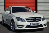 USED 2011 61 MERCEDES-BENZ C CLASS 1.8 C180 BLUEEFFICIENCY AMG SPORT EDITION 125 2d AUTO 156 BHP
