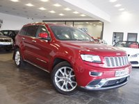 USED 2016 16 JEEP GRAND CHEROKEE 3.0 V6 CRD SUMMIT 5d 247 BHP AUTO PAN ROOF+H-KARDON+R-CAM+LTHR