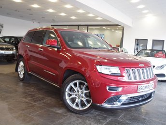 2016 JEEP GRAND CHEROKEE 3.0 V6 CRD SUMMIT 5d 247 BHP AUTO £29990.00