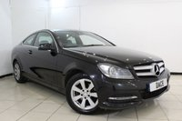 USED 2013 64 MERCEDES-BENZ C CLASS 2.1 C220 CDI EXECUTIVE SE PREMIUM PLUS 2DR 168 BHP FULL SERVICE HISTORY + LEATHER SEATS + SAT NAVIGATION + REVERSE CAMERA + BLUETOOTH + CRUISE CONTROL + MULTI FUNCTION WHEEL + CLIMATE CONTROL + 16 INCH ALLOY WHEELS