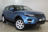 USED 2013 13 LAND ROVER RANGE ROVER EVOQUE 2.2 SD4 PURE 5DR 190 BHP FULL SERVICE HISTORY + HEATED LEATHER SEATS + PARKING SENSOR + PANORAMIC ROOF + BLUETOOTH + CRUISE CONTROL + MULTI FUNCTION WHEEL + CLIMATE CONTROL + 18 INCH ALLOY WHEELS