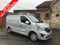 USED 2015 15 VAUXHALL VIVARO 1.6 2700 L1H1 CDTI P/V SPORTIVE 1d 118 BHP PRICE CUT, Full Roof Rack, Air Conditioning, Only 19,000 Miles.