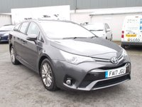 2017 TOYOTA AVENSIS 2.0 D-4D BUSINESS EDITION 5d 141 BHP £15250.00