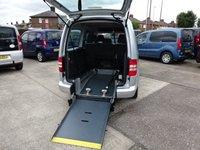 USED 2011 11 VOLKSWAGEN CADDY MAXI 1.6 C20 LIFE TDI 5d AUTO 7 SEATS WHEELCHAIR ACCESS WAV FOLD FLAT RAMP (M1) AUTO