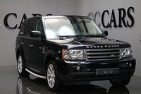 USED 2008 08 LAND ROVER RANGE ROVER SPORT 2.7 TDV6 SPORT HSE 5d 188 BHP FULL IVORY LEATHER HEATED ELECTRIC MEMORY SEATS, SATELLITE NAVIGATION, FACTORY FITTED LAND ROVER SIDE STEPS, LEATHER MULTI FUNCTION STEERING WHEEL, CRUISE CONTROL, DUAL ZONE CLIMATE CONTROL, FRONT AND REAR PARK DISTANCE CONTROL, HEATED ELECTRIC POWERFOLD MIRRORS, AUTOMATIC BI-XENON HEADLIGHTS, 19 INCH ALLOY WHEELS