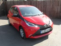 2016 TOYOTA AYGO 1.0 VVT-I X 5d  FREE ROAD TAX WITH REMAINING TOYOTA WARRANTY £6000.00