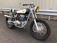 1976 HONDA UNSPECIFIED CJ 250CC TWIN CAFE RACER TREKKER CUSTOM CLASSIC £5995.00