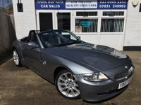 USED 2007 07 BMW Z4 3.0 Z4 SI SPORT ROADSTER 262 BHP 28K FSH 2 OWNERS RARE OPPORTUNITY HUGE SPEC EXCELLENT CONDITION