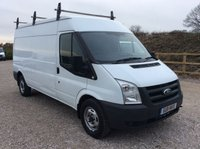 USED 2011 11 FORD TRANSIT T300 100PS LWB SEMI HIGH ROOF **NO VAT**