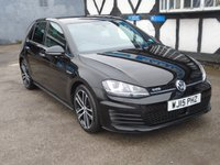 USED 2015 15 VOLKSWAGEN GOLF 2.0 GTD 5d 181 BHP