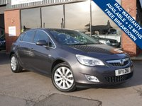 USED 2011 11 VAUXHALL ASTRA 2.0 SE CDTI 5d 157 BHP LOW MILES, AIR CONDITIONING, CRUISE CONTROL, AUTO LIGHTS